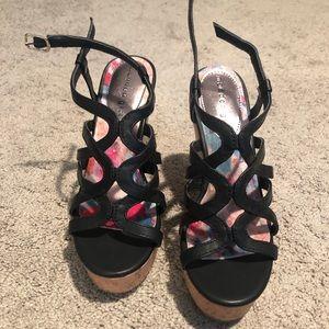 Madden Girl Elmaa Wedge Sandal